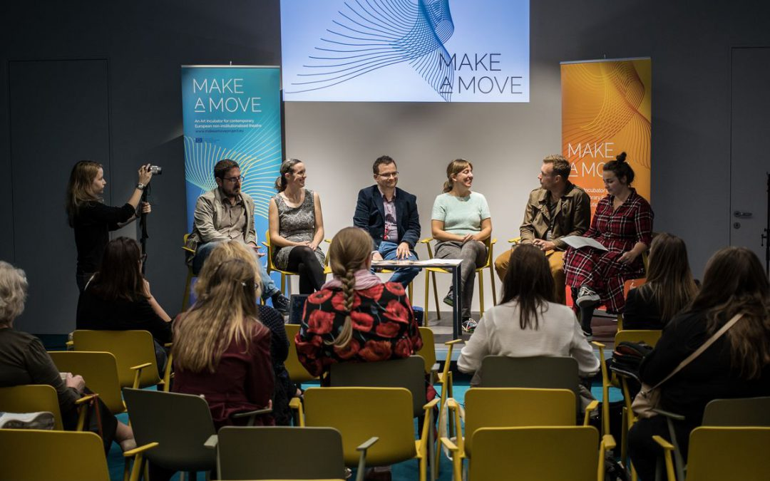 "Europe gets an arts incubator: The international theater project ""Make a Move"""